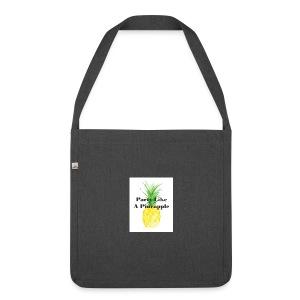 Party like A Pineapple tas - Schoudertas van gerecycled materiaal