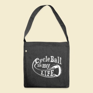 Radball | Cycle Ball is my Life - Schultertasche aus Recycling-Material