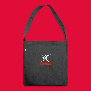 CityGym Guys Pullover - Black - Shoulder Bag made from recycled material