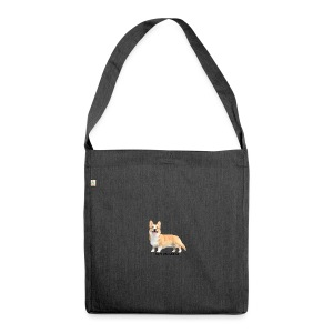 TopiTheCorgi - Shoulder Bag made from recycled material