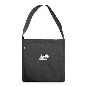 Founded in Scotland alternative logo - Shoulder Bag made from recycled material