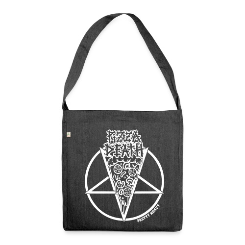 Pretty Heavy - Pizza Death - Schultertasche aus Recycling-Material