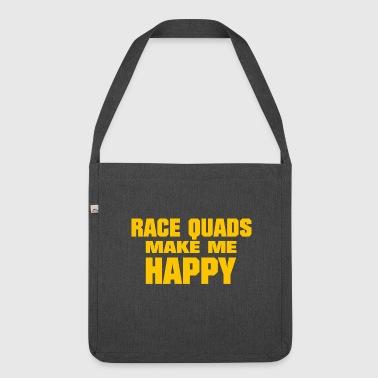 Race Quads - Schoudertas van gerecycled materiaal