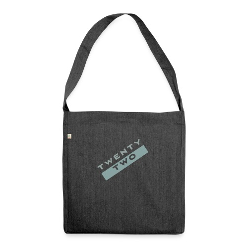 Twenty Two - Shoulder Bag made from recycled material