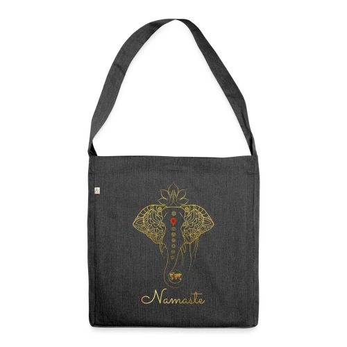 RUBINAWORLD - Namaste - Shoulder Bag made from recycled material