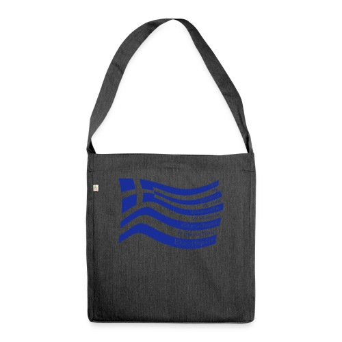 galanolefki - Schultertasche aus Recycling-Material