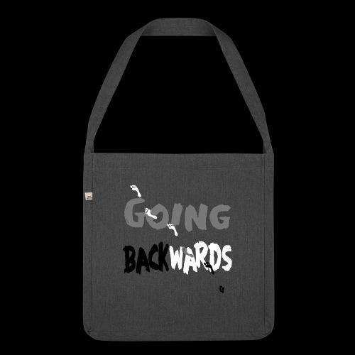 goin'backwards - Schultertasche aus Recycling-Material