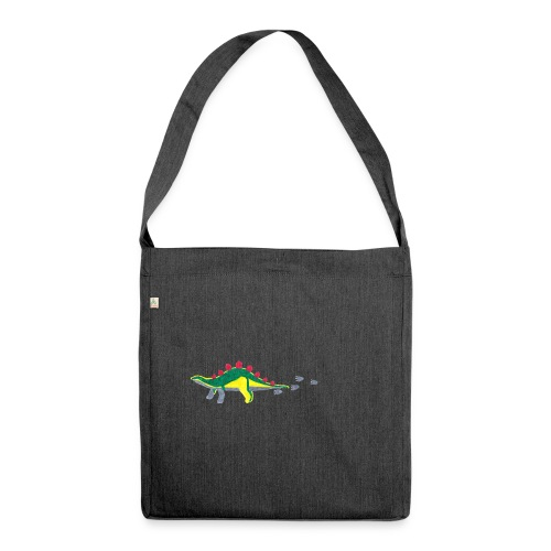 dino - Schultertasche aus Recycling-Material