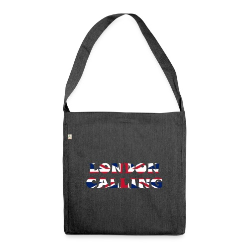 London 21.1 - Schultertasche aus Recycling-Material