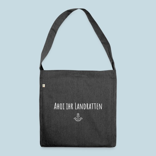 Ahoi - Schultertasche aus Recycling-Material