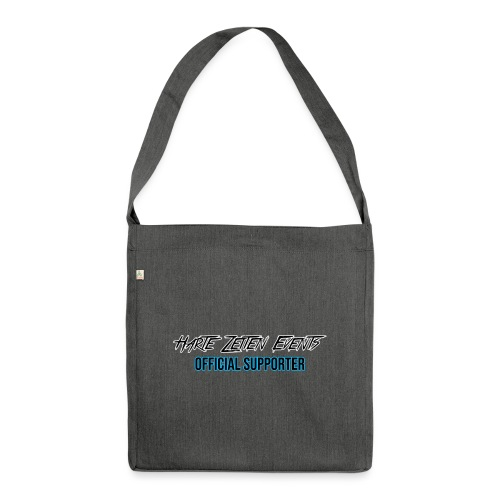 Official Supporter - Schultertasche aus Recycling-Material