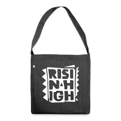 RHI_Logo_vertikal 3 Color - Schultertasche aus Recycling-Material