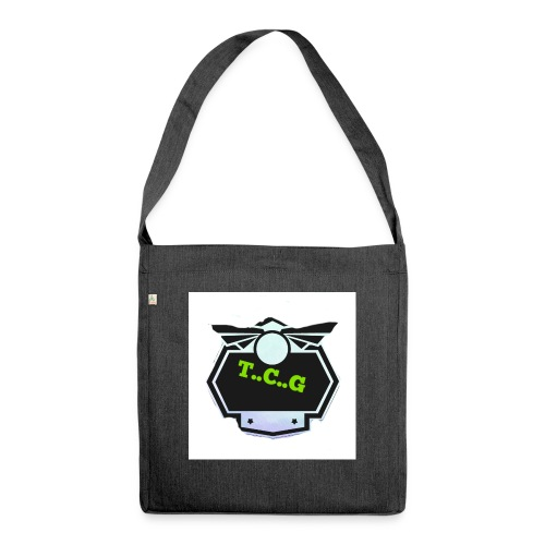 Cool gamer logo - Shoulder Bag made from recycled material