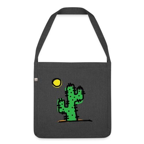 Cactus single - Borsa in materiale riciclato