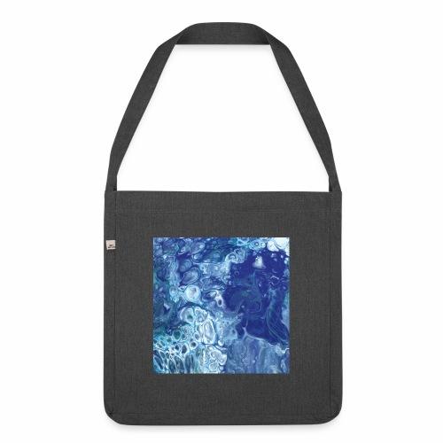 Blue - Schultertasche aus Recycling-Material