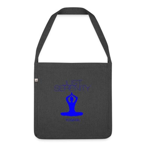 yogatyk blue - Sac bandoulière 100 % recyclé