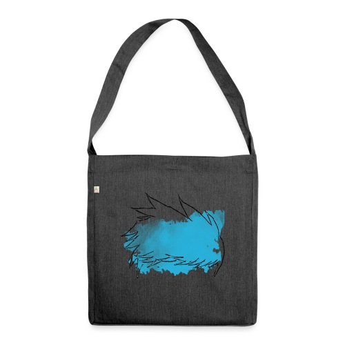 Blue Splat Original - Shoulder Bag made from recycled material