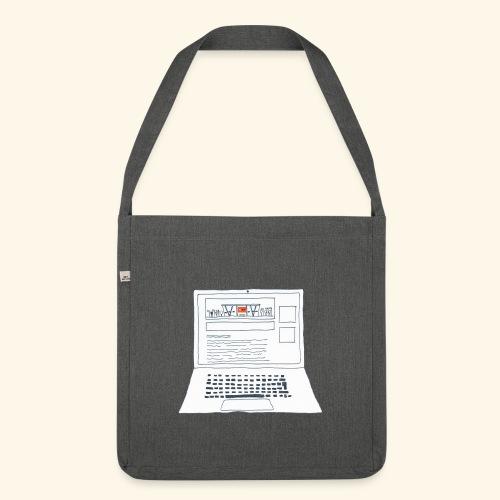 Laptop 20CENT Retail - Sac bandoulière 100 % recyclé