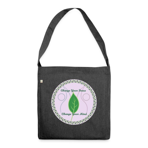 The Anti-Diet Lifestyle - Shoulder Bag made from recycled material