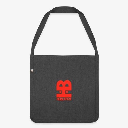 happy breizh logo - Sac bandoulière 100 % recyclé