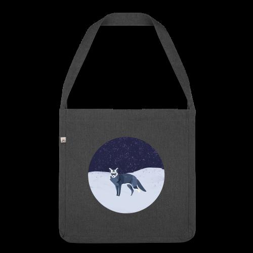 Blue fox - Olkalaukku kierrätysmateriaalista