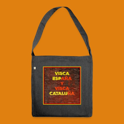 SPAIN AND CATALONIA - Shoulder Bag made from recycled material