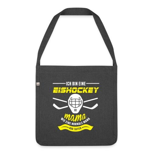eishockeymama - Schultertasche aus Recycling-Material