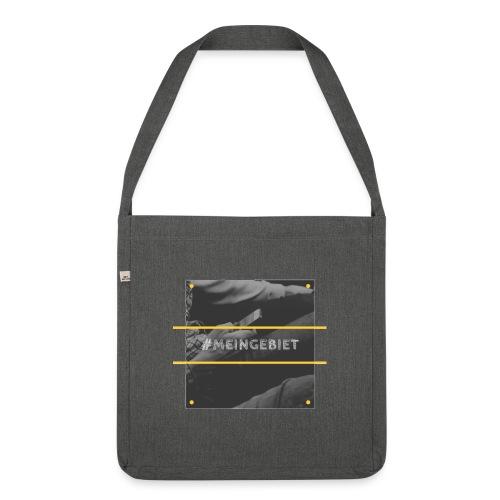 MeinGebiet - Schultertasche aus Recycling-Material