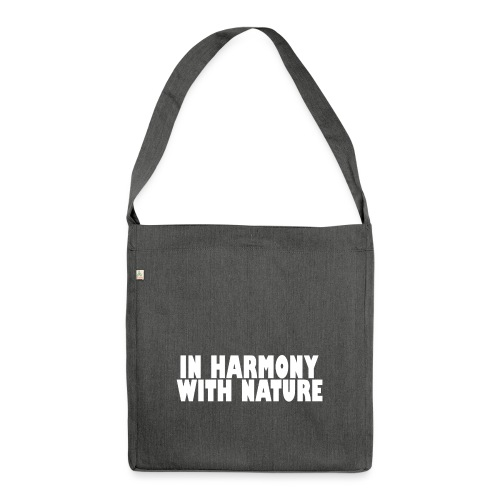 IN HARMONY - Schultertasche aus Recycling-Material