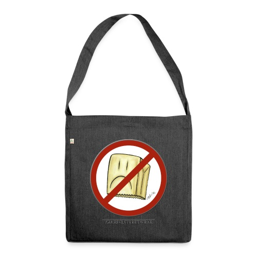 No Squares - Schultertasche aus Recycling-Material