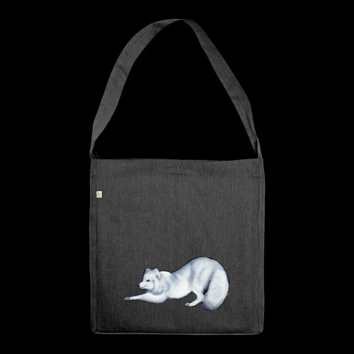 Arctic Fox - Shoulder Bag made from recycled material