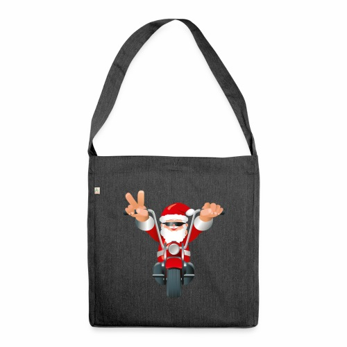 Father X-Mas - Shoulder Bag made from recycled material
