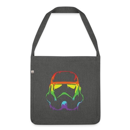 Pride Trooper - simple - Olkalaukku kierrätysmateriaalista