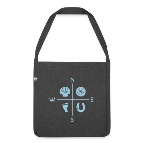 Buen_Camino_Navi_4 - Schultertasche aus Recycling-Material