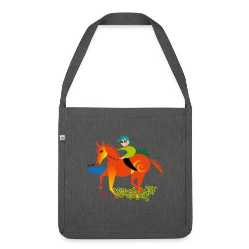 cheval dousig - Sac bandoulière 100 % recyclé