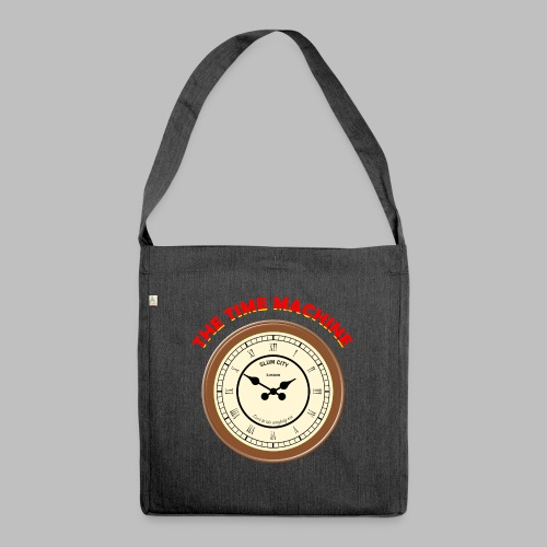 Time Machine - Shoulder Bag made from recycled material