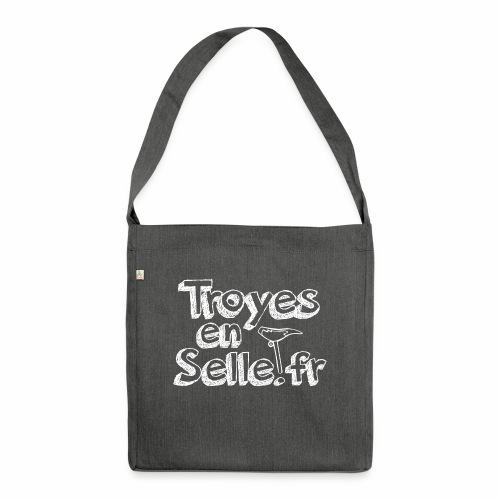 logo Troyes en Selle - Sac bandoulière 100 % recyclé