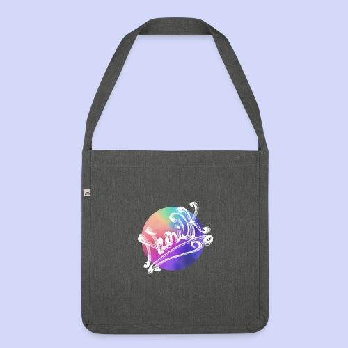 pastel rainbow, NuniDK Collection - Female top - Skuldertaske af recycling-material