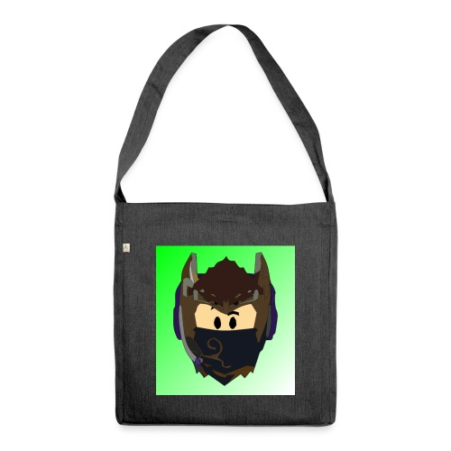 AN1MAYTRZ logo - Shoulder Bag made from recycled material