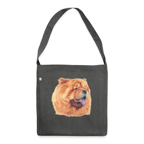 chow chow - Skuldertaske af recycling-material