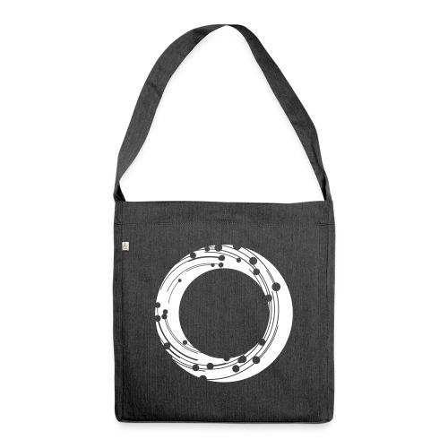 NBG Icon Weiß - Schultertasche aus Recycling-Material