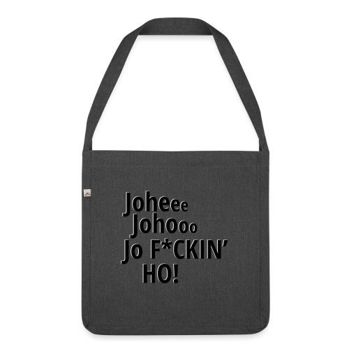 Premium T-Shirt Johee Johoo JoF*CKIN HO! - Schoudertas van gerecycled materiaal