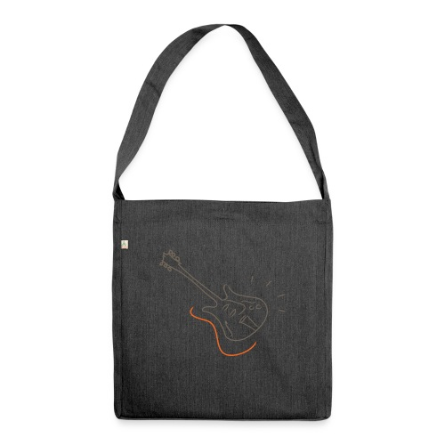 Guitar - Jazz Life Collection - Borsa in materiale riciclato