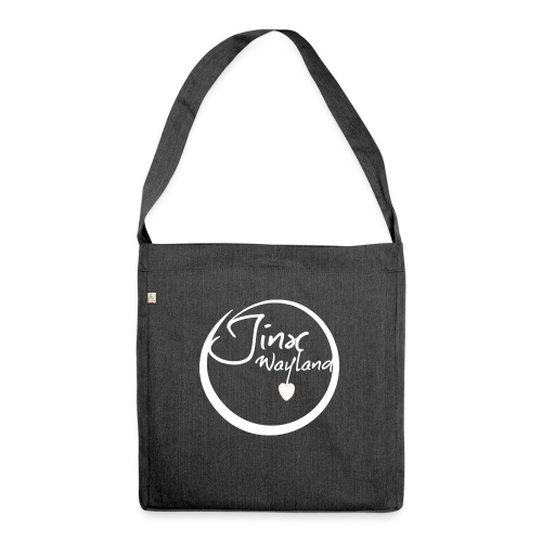 Jinx Wayland Circle White - Shoulder Bag made from recycled material