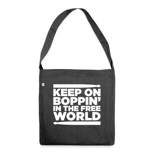 Keep on Boppin' - Shoulder Bag made from recycled material