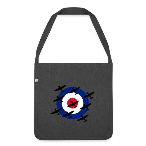 Spitfire vintage warbird - Shoulder Bag made from recycled material