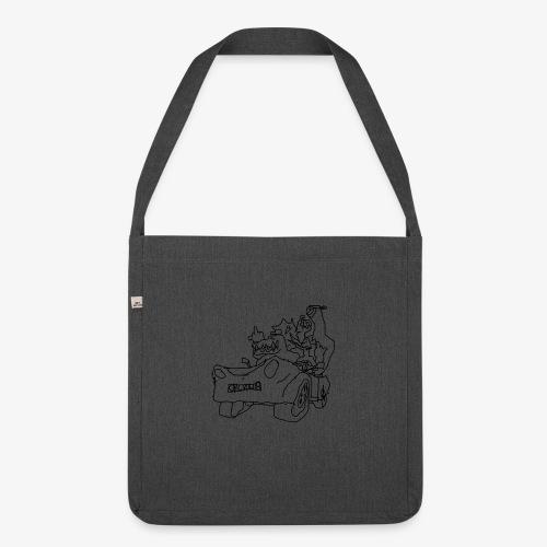 gova dinos - Sac bandoulière 100 % recyclé