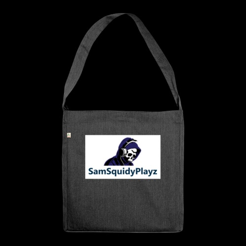 SamSquidyplayz skeleton - Shoulder Bag made from recycled material