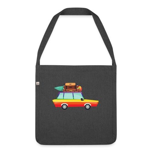 Gay Van | LGBT | Pride - Schultertasche aus Recycling-Material