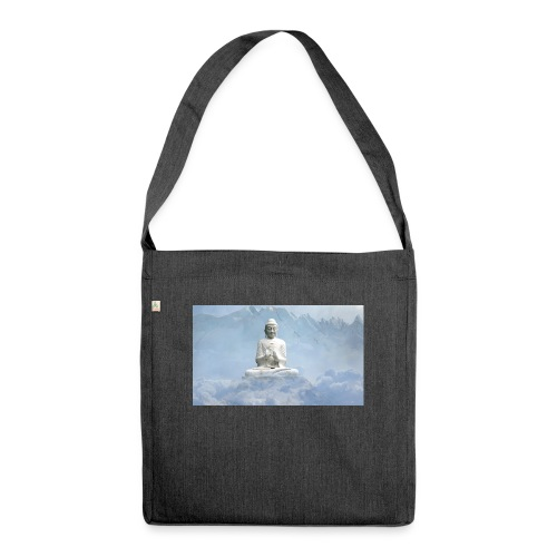Buddha with the sky 3154857 - Shoulder Bag made from recycled material